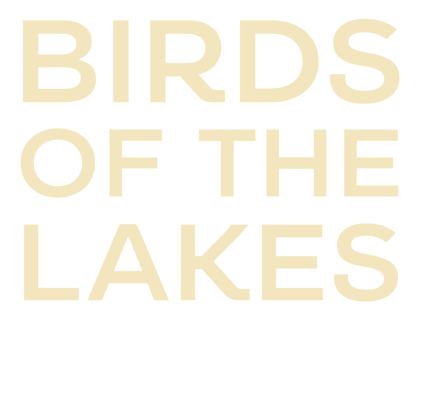BIRDS OF THE LAKES, RETURN